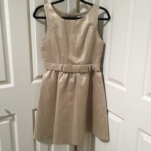 LC by Lauren Conrad Gold Dress